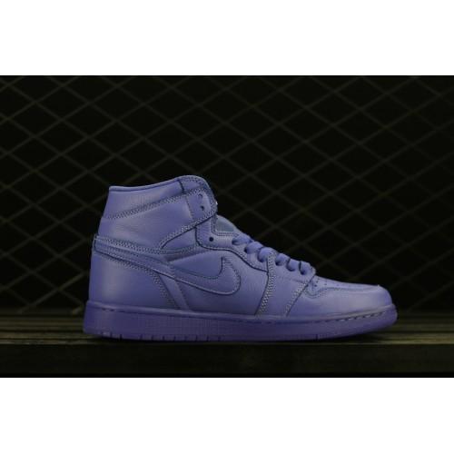0ab82a0c2aa Cheap 2018 Jordan 1 Gatorade Grape Rush Violet Shoes ...