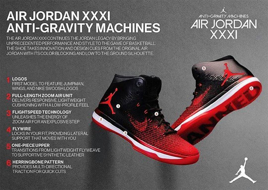 4 strong reasons! Tell you why Air Jordan XXXI is worth starting!